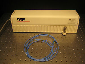 Zygo 7702 Two frequency Hene Laser 6mm Beam Stable Output 665uw W Fiber Cable