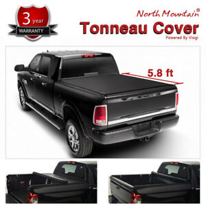 Soft Vinyl Roll up Tonneau Cover Fit 14 18 Silverado sierra 1500 5 8 Short Bed
