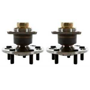 Pair 2 Rear Wheel Hub Bearing For 2003 2004 2005 Chevrolet Cavalier Except Abs