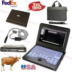 Usa Veterinary Vet Ultrasound Scanner Machine Animal 7 5m Rectal Probe Horse cow