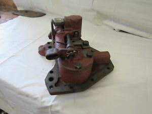 Farmall M Early Sm Tractor Ih Hydraulic Belly Pump