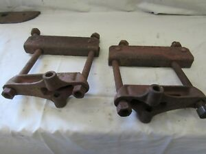 Ih Farmall H Sh 300 350 Drawbar Hitch Mounting Brackets Antique Tractor