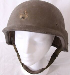 Kevlar L-2 Military Army 86 Combat USGI PASGT Ground Troops Chin Strap Helmet