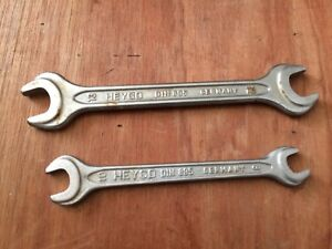 Bmw Heyco Open End Wrenches Oem Bmw Trunk Tool Set Germany 8 10 Mm 12 13 Mm