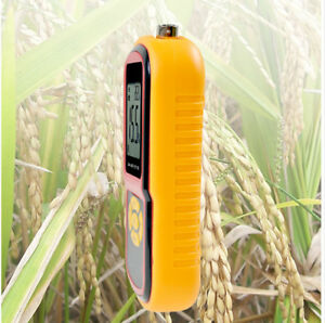 Digital Rice Corn Paddy Wheat Grain Moisture Humidity Meter Temperat Tester