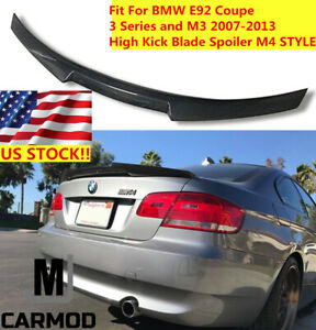 c2e36167970 Fit For Bmw. Fit For Bmw E92 320i 328i 335i Coupe Carbon Fiber Rear Trunk  Spoiler M4 Style.  124.99. Fits 07 10 Bmw E92 335i 328i Coupe 2dr Pu Front  Bumper ...
