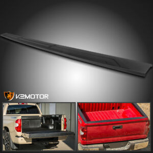 For 2014 2018 Toyota Tundra Black Tailgate Moulding Cap Protector Top Cover