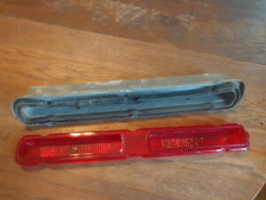 1966 Pontiac Catalina Right Hand Tail Light Lens Assembly Passenger Side 2 2
