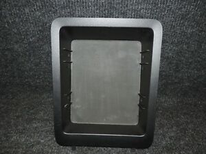 2007 2014 Gm Tahoe Yukon Oe Blk Center Flow Thru Console Tray W Rubber Insert 37