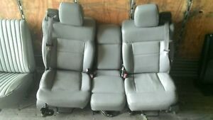 Front Gray Vinyl Seat Ford Pickup F150 04 05 06 07 08