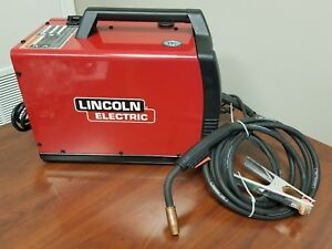 Lincoln Electric Pro Mig 140 Welder With Leads C x