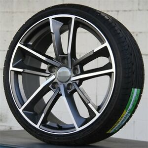 Set 4 19 19x8 5 5x112 Wheels Tires Pkg Fit Audi Rs A4 S4 A6 A7 A5 Q5 Q3 A8