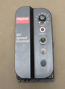 Dayton Dc Speed Control 5x485c With Precision Adjustable Working Condition