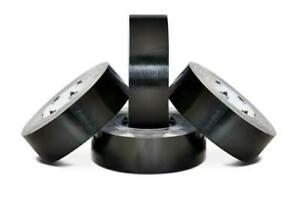 2 X 60 Yards Black Duct Tape 7 Mil Box Shipping Tapes 168 Rolls