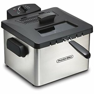 35044 Professional style Deep Fryer With L Capacity Silver