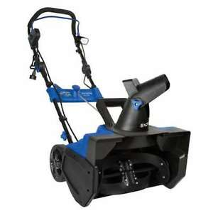 Snow Joe Ultra 21 15a Electric Snow Thrower W 4 Blade Auger Light damaged