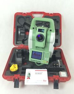 Leica Tcrp1203 R1000 3 Robotic Total Station Reconditioned Financing