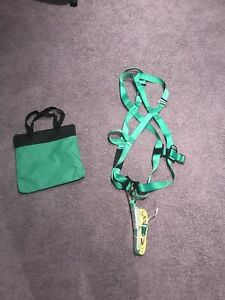 Sunbelt Aerial Lift Kit Safety Harness Web Devices Harness And Lanyard