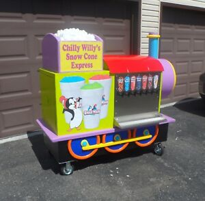 Snow Cone Concession Sno Kone Cart Stand