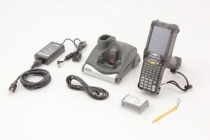 Motorola Symbol Mc9190 g30sweqa6wr Kit With Cradle Crd9000 1000