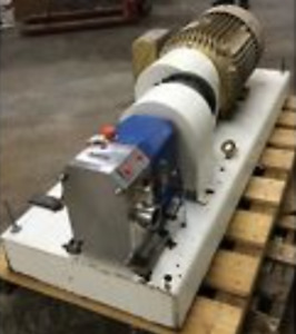Positive Displacement Pump 125 Gpm Viking Duralobe S3s Sanitary Stainless