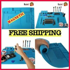 Professional Soldering Heat Resistant Station Mat With Magnetic For Phone Repair