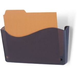 New Officemate Unbreakable Wall File Inve Size Smoke 21641 Free Shipping