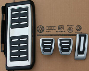 Skoda Kodiaq Original Pedalset Rs Pedals Caps With Footrest For Manual Cars