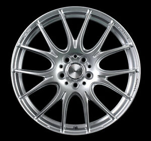 Rays Homura 2x7plus Wheels Silver 7 5j 19 48 5x112 Set Of 4 From Japan