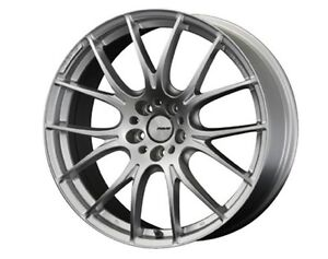 Rays Homura 2x7 Wheels 8 0j 19 48 5x112 Spark Plated Silver Set Of 4 From Japan
