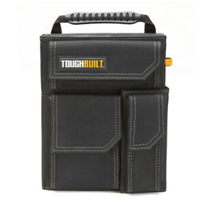 Toughbuilt Worksite Organizer Grid Notebook Storage Smart Phone Pocket Accessory
