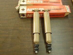 Nos Oem Ford 1957 1958 Truck Pickup Rear Shocks Edsel Fairlane Station Wagon
