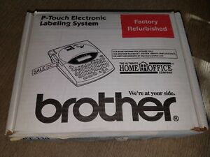 Portable Brother P touch Electronic Labeling System Pt 330 Extras