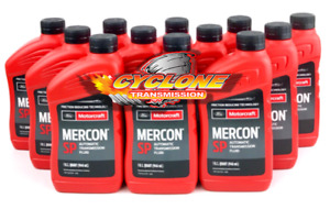 Genuine Motorcraft Mercon Sp Torqshift Transmission Fluid Xt6qsp Case 12 Quarts