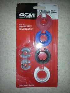 Oem Tools 25052 6 Pc Air Conditioning Fuel Line Disconnect Tool Set