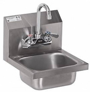 Stainless Steel Hand Sink Nsf Commercial Equipment 12 X 12