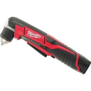Milwaukee M12 Lithium ion Cordless Angle Drill Kit