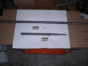 Leadscrew Manual Cross Feed Assy X And Y Axes 9x48 Table For B port Type Mills