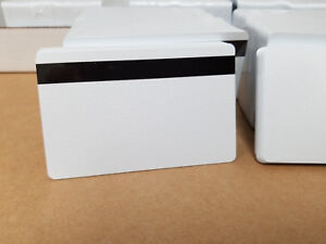 10 Pearl Hico 2 Track Pvc Cards Cr80 30 Mil 2 Track Magnetic Stripe Thin Mag