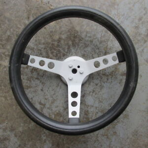 Ford Chevy Mopar Rat Rod Gasser 3 Spoke Steering Wheel 13 1 2 Inch Race Car