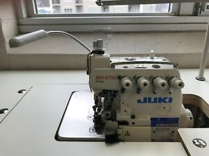 Juki Industrial Serger Machine W Safety Stitch Barely Used In Great Condition