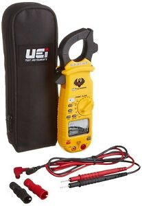 Uei Test Instruments Dl369 Digital Clamp on Meter Electric With Test Leads Pouch