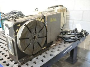 1998 Tsudakoma Rncm 401r 11 1 Rpm 15 3 4 With 8 T Slots Nc Rotary Table