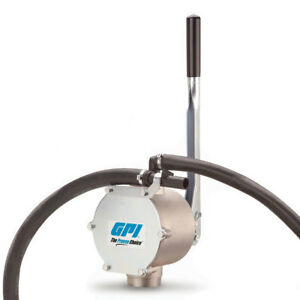 Gpi Rotary Hand Fuel Transfer Pump