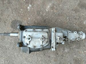 1960 1961 Corvette Impala Borg Warner T 10 4 Speed Transmission