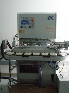 Kent International Alien 130mm Pad Printer W Carousel Tantec Arco Generators