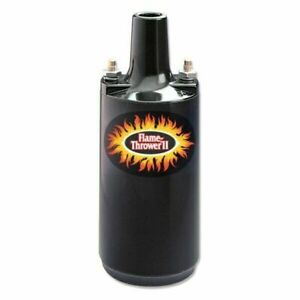 Pertronix 45111 Flame Thrower Ii 12v Black Coil 0 6 Ohm 45000 Volts Epoxy Filled