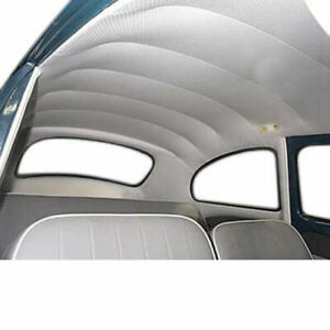 Empi 4392 Vw Bug Ivory White Vinyl Headliner 1968 1977 Hard Top