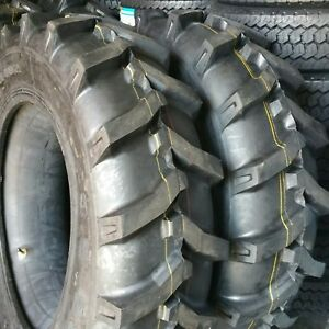 2 tires 11 2x24 11 2 24 8 Ply Tractor Tires With tubes 11224 Free Shipping