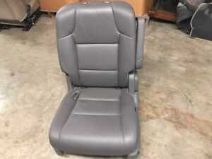 11 12 13 Honda Odyssey Rear Left 2nd Row Seat Leather Gray